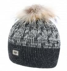 Купить шапка jamiks, цвет: серый/черный ( id 6738396 )