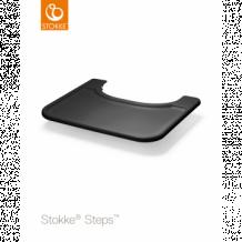 Купить столик-поднос tray для стульчика stokke steps, черный stokke 996897183