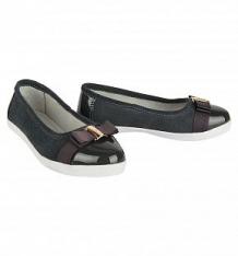 Купить туфли twins, цвет: серый ( id 9524352 )