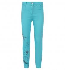 Купить брюки bellbimbo, цвет: бирюзовый 161171