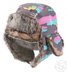Купить шапка lappi kids, цвет: серый ( id 3348668 )