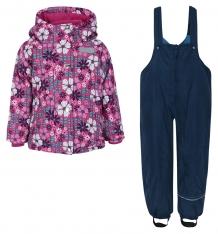 Купить комплект куртка/полукомбинезон salve by gusti, цвет: розовый/голубой ( id 9819948 )
