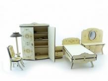 Купить lemmo конструктор набор мебели спальня (101 деталь) ме-7