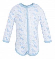 Купить боди чудесные одежки 540157, цвет: белый/голубой ( id 5779903 )