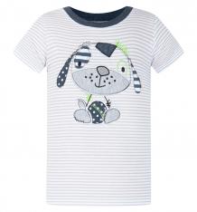 Купить футболка kiki kids маленький друг, цвет: серый ( id 8164441 )