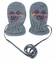 Купить варежки yo!, цвет: серый ( id 10154259 )