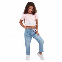 Купить футболка leader kids камуфляж, цвет: розовый ( id 11270222 )