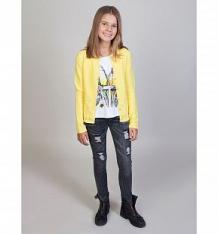 Купить кофта luminoso фламинго, цвет: желтый ( id 10338512 )