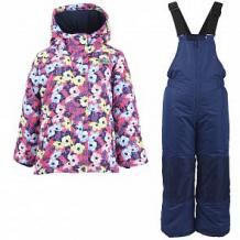 Купить комплект куртка/полукомбинезон salve, цвет: розовый/синий ( id 10675904 )