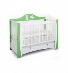 Кровать Papaloni Olivia, цвет: слива венгерка/белый ( ID 3479646 )