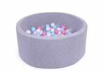 Купить anlipool сухой бассейн с комплектом шаров №40 cotton candy anpool1800114