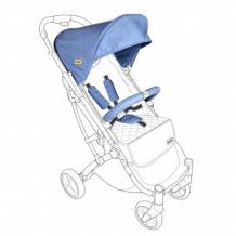 Купить тканевый комплект для коляски squizz 3 looping blue, синий looping 997089044