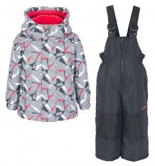 Купить комплект куртка/полукомбинезон zingaro by gusti, цвет: серый ( id 9911268 )