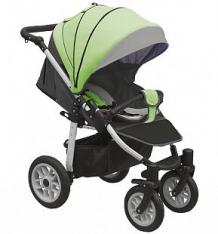 Прогулочная коляска Camarelo Eos, цвет: темно-серый/салатовый ( ID 9608622 )