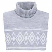 Купить шарф-воротник aliap, цвет: серый ( id 10976696 )