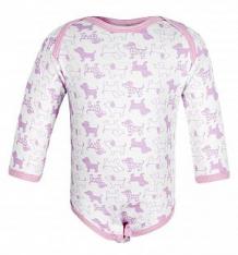 Купить боди чудесные одежки розовые собачки, цвет: белый/розовый ( id 5793019 )