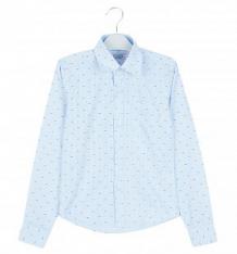 Купить рубашка rodeng, цвет: голубой ( id 9400435 )