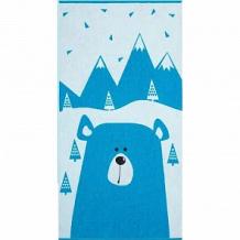 Купить полотенце крошка я мишка 70х130 см, цвет: синий/голубой ( id 12705466 )