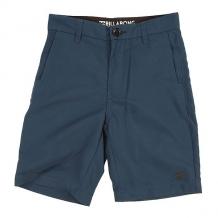 Купить шорты классические детские billabong long carter submersible indigo синий ( id 1146645 )
