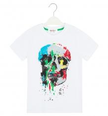 Купить футболка shishco череп, цвет: белый ( id 8907301 )
