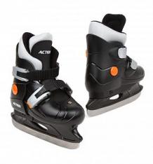 Купить коньки фигурные action sport pw-219 размер:33-36, цвет: черный ( id 7357063 )
