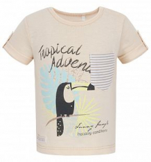 Купить футболка bembi, цвет: бежевый ( id 6013345 )