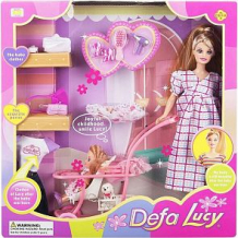Кукла Defa с наборе с аксессуарами 28 см ( ID 1066484 )