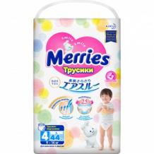 MERRIES Трусики-подгузники для детей размер L 9-14кг 44шт Merries 993803729