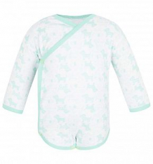 Купить боди чудесные одежки салатовые собачки, цвет: белый/салатовый ( id 5779645 )