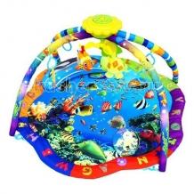 Купить развивающий коврик la-di-da музыкальный подводный мир 80701pm-t-1
