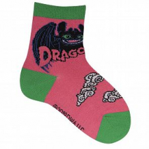 Купить носки akos how to train your dragon, цвет: коралловый ( id 12542566 )