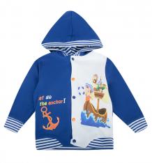 Купить толстовка babyglory морские приключения, цвет: синий ( id 8560027 )