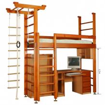 Купить карусель многофункциональный комплекс 4д.02.01 (без мебели) 673
