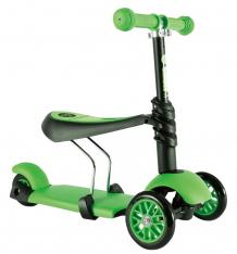 Купить самокат yvolution glider 3 в 1, цвет: зеленый 9682491