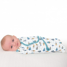 Купить конверт на липучке summer infant swaddleme, l, superstar boy summer infant 997111653