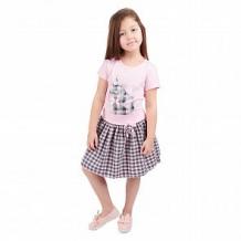 Купить юбка fun time, цвет: розовый/серый ( id 11373190 )