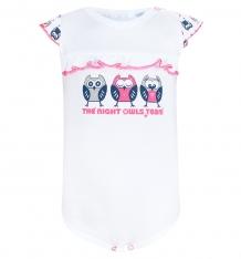 Купить боди mamatti, цвет: белый/розовый br9180