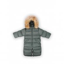 Купить happy baby комбинезон детский с натуральной опушкой 89006