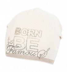 Купить шапка jamiks oriana, цвет: бежевый ( id 8271301 )