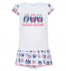 Купить боди mamatti owl, цвет: белый/розовый ( id 8189995 )
