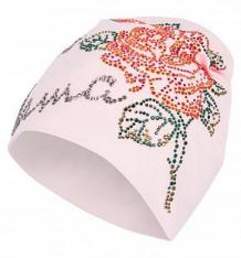 Купить шапка levelpro kids, цвет: розовый ( id 9147205 )