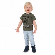 Купить футболка leader kids рок звезда, цвет: хаки ( id 12058558 )
