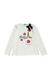Купить футболка с длинным рукавом monnalisa bimba ( размер: 122 7лет ), 10829764