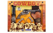 Купить gonher игрушечное оружие ковбойский набор на 12 пистонов 235/0