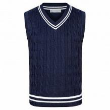 Купить жилет zattani, цвет: синий ( id 9212035 )