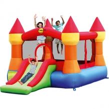 """Купить надувной батут с горкой """"супер прыжок"""", happy hop 5530642"""
