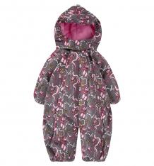 Купить lappi kids комбинезон трансформер levi, цвет: серый/розовый ( id 6280075 )