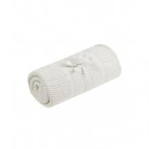Плед хлопковый Mothercare для колыбели, 70х90 см, кремовый Mothercare 5858154