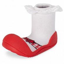 Купить пинетки attipas, цвет: красный ( id 12171040 )
