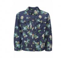 Купить finn flare kids куртка-ветровка для девочки ks17-71001 ks17-71001